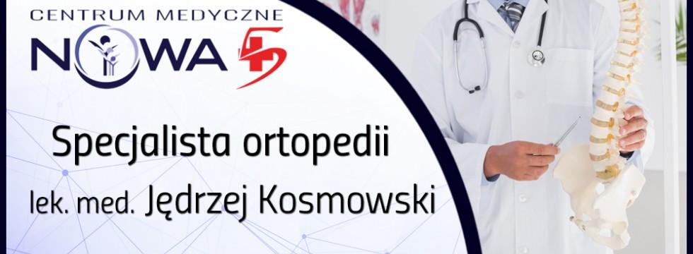 Fachowy ortopeda przyjmuje już w naszym centrum